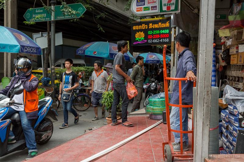 Sukhumvit Road, Bangkok. Photo by Jim Newberry.